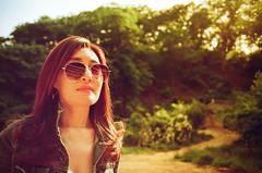 Sundown portrait (koribrus) Tags: koribrus nikonfe film photography nikon lens filmisnotdead korean korea kori focus color 35mm prime colour manual redscale 2017 ais ai brus fe believeinfilm nikkor may analog kodak filmphotography manualfocus