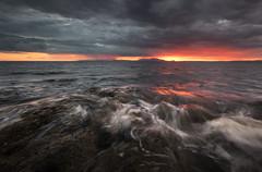 Prestwick (Ian McClure) Tags: pentax sunset ayrshire scotland