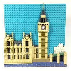 Big Ben, London, England (ZiO Chao) Tags: lego london england british landmark bigben tower
