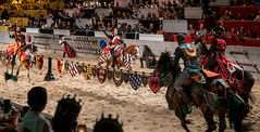 Let the tournament begins. (kuntheaprum) Tags: medievaltimes dinnershow horse sword lance joust nikon d750 sigmaart 50mm f14