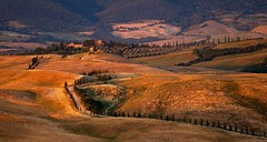 Toskana Abend (Petra Runge) Tags: landschaft toskana italien tuscany italy landscape
