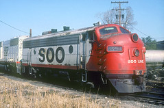 SOO F7 2229A (Chuck Zeiler) Tags: soo f7 2229a railroad emd locomotive schillerpark giballbach chz