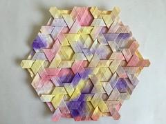 Knot tessellation - Wei Fu front (Monika Hankova) Tags: origami tessellation wei fu paper