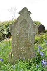 Headstone - Ethel Warne