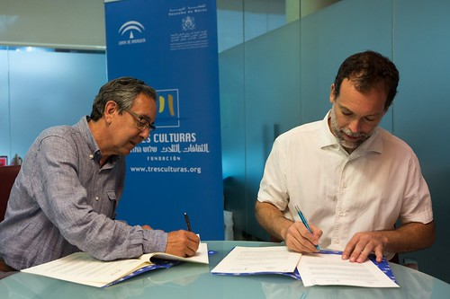 """Firma Convenio con Fundación Al fanar para promover el Observatorio de Islamofobia en los medios • <a style=""""font-size:0.8em;"""" href=""""http://www.flickr.com/photos/124554574@N06/36516837590/"""" target=""""_blank"""">View on Flickr</a>"""