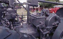 Pioneer Steam and Gas Engine Show (rentavet) Tags: nikkormatel analog konicacenturia400asa saegertownpa pioneersteamgasenginesocietynwpa tractorshow 1919titan