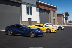 Colors (Hunter J. G. Frim Photography) Tags: supercar colorado ferrari f430 v8 italian black yellow giallo nero coupe ferrarif430 hre f12 berlinetta v12 tdf blue white bianco blu tour de france adv1 ferrarif12 ferrarif12berlinetta blutourdefrance tdfblue