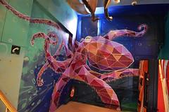 Octopus (HBA_JIJO) Tags: streetart urban graffiti paris animal art france artist hbajijo wall mur painting aerosol peinture octopus murale spray bombing urbain pievre grem1 gremone rehab2