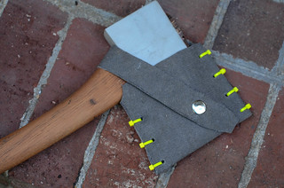 Down and dirty hatchet sheath