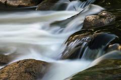 Smooth (tquist24) Tags: christianacreek elkhart indiana nikon nikond5300 wellfieldbotanicalgardens creek geotagged longexposure river rocks water waterfall unitedstates