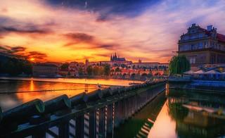 Praha Sunset
