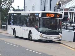 Borders Buses 11401 BU14 EHW (19.08.2017) (CYule Buses) Tags: service67 bordersbuses wcm westcoastmotors mcvevolution volvob7rle volvobus bu14ehw 11401