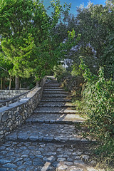 If the path is beautiful don't ask where it leads... (@Katerina Log) Tags: path stonepath outdoor stone sonyilce6000 stoupa streetphotography messinia mani peloponnese katerinalog nature natura architecture tree foliage epz18105mmf4goss