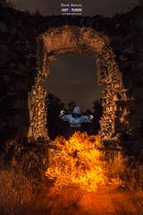 Dominando el Fuego (MrDaVidU) Tags: chicamonge espiritual fuego llamas nocturna lightpainting lightxplorers nikon samyang d7100 linternasfenix fenix ld12 strobe fire spiritual