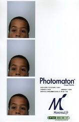 Photomaton Boy (hyakoukoune) Tags: