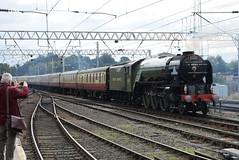 LNER 60163 @ Carlisle train station (ianjpoole) Tags: london north eastern class a1 peppercorn 60163 tornado rear 5z64 carlisle freight road depot
