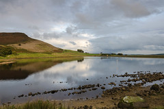 Calm Afternoon (andythomas390) Tags: embsay reservoir calm reflections clouds embsaycrag nikon d7000 18200mm