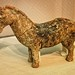 Horse figurine Warring States period - Qin dynasty 3rd century BCE Tomb 123 Maopocun Chang'an Xi'an China Pottery