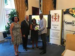 NATIONAL LIBRARY OF JAMAICA LOBBIES UNITED KINGDOM DIASPORA's SUPPORT