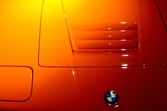 Orange BMW M1 (Studio d'Xavier) Tags: orange bmw automobile car bmwm1 e26m1