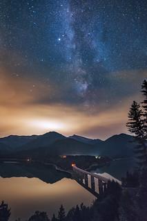 Sylvenstein Stars & Fog