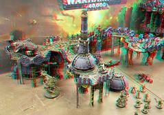 Warhammer 40.000 Rotterdam 3D (wim hoppenbrouwers) Tags: warhammer 40000 rotterdam 3d anaglyph stereo redcyan
