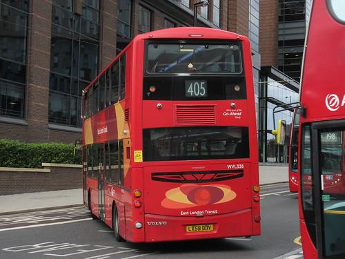 Go Ahead London Metrobus WVL338 LX59DDV On Route 405 At West Croydon
