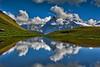 Hiking in Switzerland ; Grindelwald , Trift , above Bachsee . No. 8962 (Izakigur) Tags: helvetia liberty izakigur flickr feel europe europa dieschweiz ch lasuisse musictomyeyes nikkor suiza suisse suisia schweiz suizo swiss svizzera سويسرا laventuresuisse lepetitprince myswitzerland landscape alps alpes alpen switzerland schwyz suïssa berneroberland bern berna berne grindelwald bachsee lake lac water thelittleprince ilpiccoloprincipe nikond700 nikkor2470f28 d700 topf25 1000faves