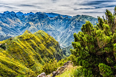 Wilderness alive (*Capture the Moment*) Tags: 2017 berge farbdominanz himmel insel island landschaften madeira mountains sky sonye18200mmoss sonynex7 wolkenclouds blau blue sonnig sunny