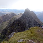 Approaching Corrag Buidhe from Sgurr Fiona thumbnail