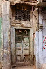 0F1A1757 (Liaqat Ali Vance) Tags: door window artistic wood work abandoned heritage architecture architectural archive lal khuh walled city lahore punjab pakistan