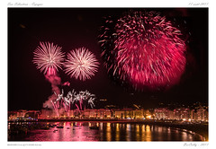 San Sebastian (BerColly) Tags: espagne spain sansebastian feu artifice fireworks festival bercolly google flickr