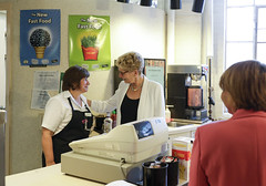 _MG_8074 Premier Kathleen Wynne visited Lawrence Park High School. (Ontario Liberal Caucus) Tags: school highschool colle hunter education students eglingtonlawrence toronto