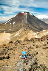Cubert en Mordor (Firmin_) Tags: tongariro newzealande nouvellezélande cubert mordor volcan volcano hikking randonnée robot adventure travel voyage nikon d3000 18105 nature