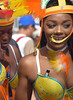 DSC_2128a Notting Hill Caribbean Carnival London Exotic Colourful Yellow and White Costume with Orange Yellow and Red Feather Headdress Showgirl Performer Aug 28 2017 Stunning Lady (photographer695) Tags: notting hill caribbean carnival london exotic colourful costume showgirl performer aug 28 2017 stunning lady yellow white with orange red feather headdress