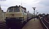 DB 218186 (Hoover 29) Tags: diesel deutschebahn db class218 218186 passengertrain e3558 neumünster westgermany