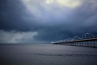 36/52: Rain Over the Irish Sea at Southport