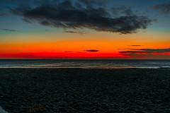 Sunrise Kilnsea (dzubby890) Tags: sun sunrise sunlight beach eastyorkshire eastcoast yorkshire clouds cloud sand windturbine windfarm