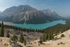 Peyto Lake Panorama (steveholding8) Tags: canada peytolake lake mountain alberta rockiemountains steveholding banffnationalpark