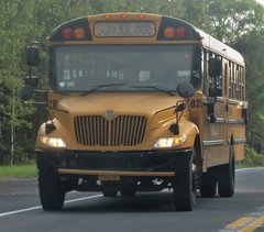 First Student #828 (ThoseGuys119) Tags: firststudentinc freightliner fs65 wallkillny wallkillcentralschooldistrict schoolbus ic ce