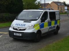 KP14TCK (Cobalt271) Tags: kp14tck northumbria police vauxhall vivaro 2900 cdti response van proud to protect livery