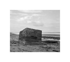 Skinnergrove Beach (Pinhole Photography Workshops) Tags: intrepid northyorkshire skinningrove ilfordfp4 pinhole