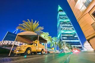 Riyadh KSA Al Faisaliah Tower Nightandday