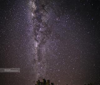 La Vía Láctea en Huayllay - 9993