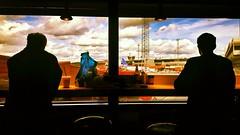 airport silhouette clouds sky dramaticsky lounge travel... (Photo: Kimmo Räisänen on Flickr)