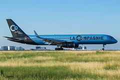 La Compagnie / F-HCIE / Boeing 757-200 / LFPG-CDG 27R / © (RVA Aviation Photography (Robin Van Acker)) Tags: airport planes trafic airlines avgeek airliner outdoor airplane aircraft vehicle jetliner jet jumbo air photography aviation aviationphotography paris charlesdegaulles