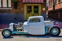 1948 Mercury pickup hot rod (kenmojr) Tags: 2017 antique atlanticnationals auto car classic moncton newbrunswick show vehicle vintage centennialpark downtown kenmo kenmorris carshow hotrod 1948 mercury pickup truck flathead