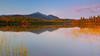 Connery Pond: Sunset glow (Shahid Durrani) Tags: adirondack mountains adirondacks upstate new york connery pond sunset