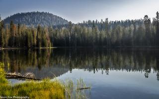 Summit Lake Reflection