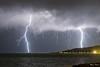 Orage sur la côte Toscane. 10/9/2017 (MarKus Fotos) Tags: orage orages storm foudre italy italie italia toscane thunder thunderstorm thunderstrike tempete lightning eclair éclair éclairs tuscany see sea mer blitz sturm tormenta temporale fulmini fulmine